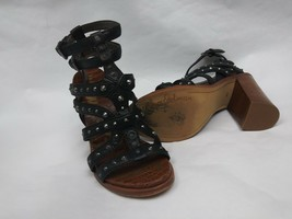 Sam Edelman Keith Croc Embossed Footbed Studded Sandal Size 8 M - $46.39