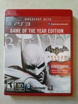 Batman: Arkham City Goty 2012 [Playstation 3] - $9.49