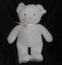 "19"" BEARINGTON BABY BABY'S FIRST TEDDY BEAR PINK STUFFED ANIMAL PLUSH TO... - $28.05"