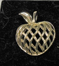Gerry's Gold Tone Apple Pin Brooch - $10.88