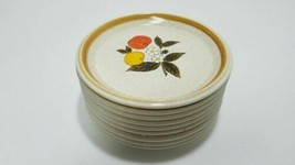 Mikasa F5812 Stone Manor Tempting Pattern Vintage Salad Plate Lot of 9 -... - $45.46