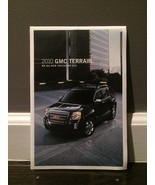 2010 GMC Terrain Foldout Brochure Poster - $7.91