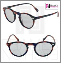 OLIVER PEOPLES ALAIN MIKLI GREGORY PECK SUN Palmier Blue Tropical Sungla... - $234.63