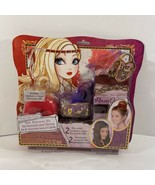New Ever After High Hair Accessories Kit Create Your Crown Hair Bun Head... - $14.84