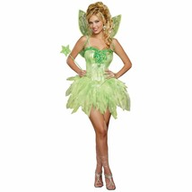 Dreamgirl Fairy-Licious Tinkerbell Fantasy Sparkles Adult Women's Costum... - $47.24
