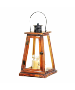 "Ideal Large Candle Lantern - 21"" high with handle - $38.95"