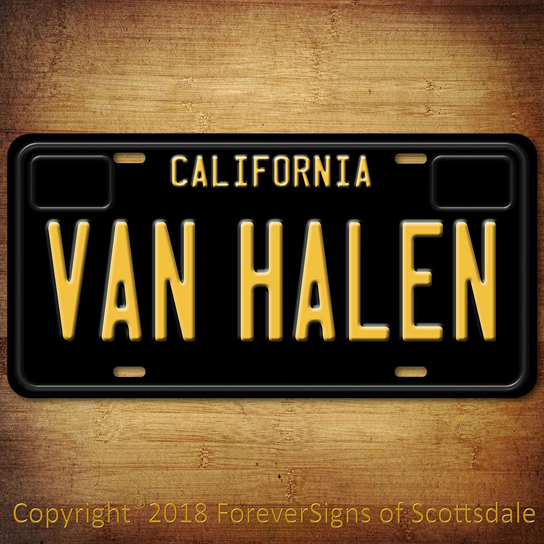 Van Halen Rock Band Pennsylvania Aluminum Vanity License Plate New