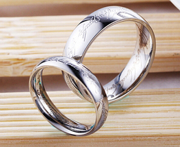 "1 x fashion titanium steel classic silver color for men fashion jewelry 20""rings - $6.99"