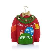 Holiday Sweater 2013 Hallmark Ornament - $13.86