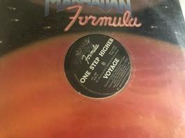 Voyage LP Record One Step Mayor Manhattan Fórmula 1982 - $10.34