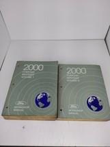 2000 Ford Contour Mercury Mystique 2 Volume Factory Service Manual Workshop - $12.82