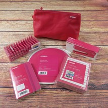 Poppin Pink 6 Piece Office Supplies Desk Accessory Set - €56,64 EUR