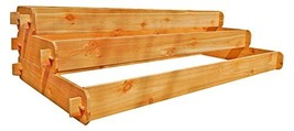 Timberlane Gardens Raised Bed Kit Large 3 Tiered (1x6 2x6 3x6) Western Red Cedar - $169.00
