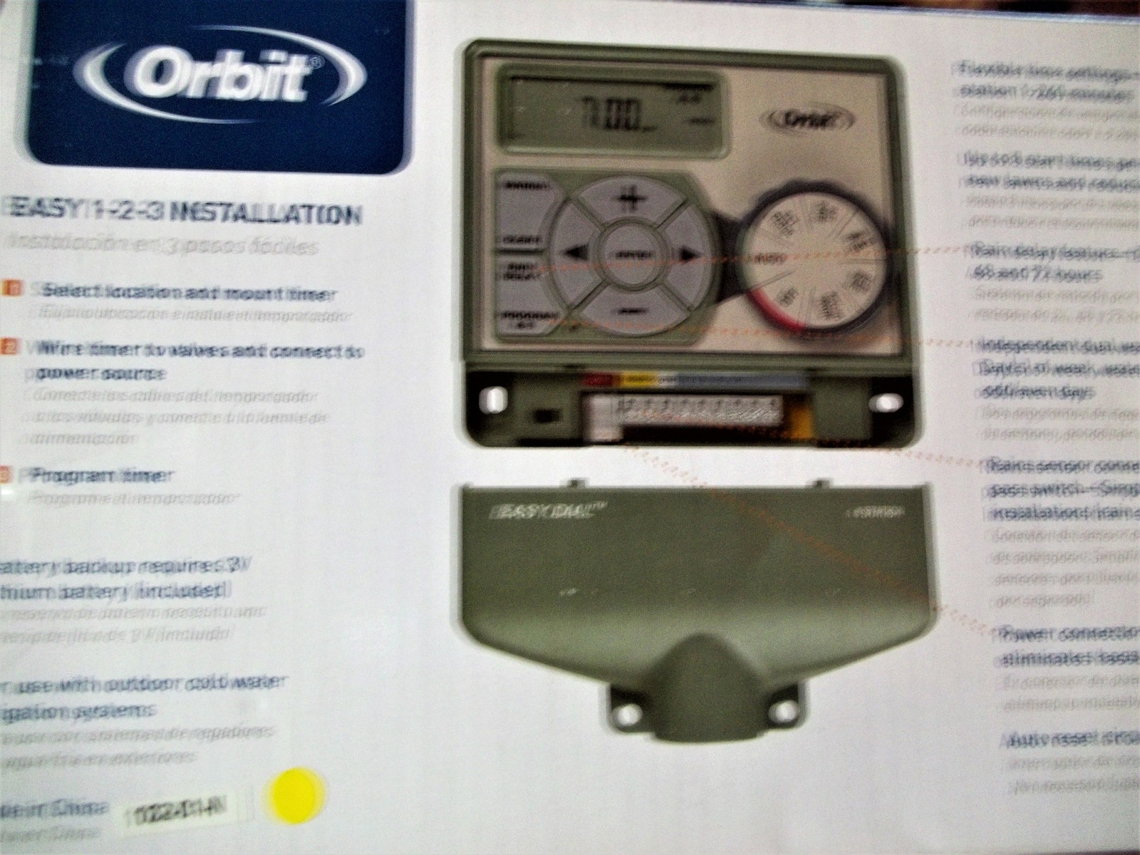 4 Station Indoor Easy Dial Sprinkler Timer and 50 similar items