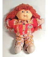 VINTAGE CABBAGE PATCH DOLL FIRST EDITION 1990 CPK HAPPY BIRTHDAY SIGNED RED - $29.99