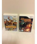 Cabelas Dangerous Hunts 2011 & Cabelas Outdoor Adventures Complete - $16.95