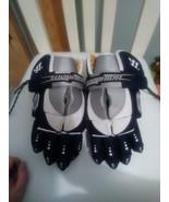 Warrior Meteor Gloves with VaporTek lacrosse / hockey - blue and grey - $34.65