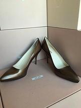 New PRADA Metallic Brown High Stilettos Heels Size 40 Italy Pumps Women Shoes S1 - $389.99