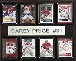 NHL Montreal Canadiens Carey Price 8-Card Plaque, 12 x 15-Inch - $40.93
