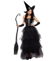 Sexy Black Magic Halloween costume - $30.00