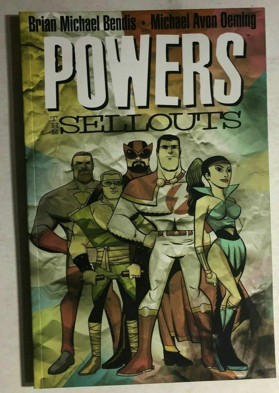 POWERS Sellouts (2004) Marvel Icon Comics TPB 1st FINE- - $14.84