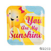 You Are My Sunshine Dinner Plates - $3.86