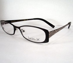Nicole Miller Debut onyx black Eyeglass Women  Frames Eyewear Frames Optical - $39.58