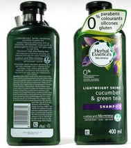 2 Ct Herbal Essences Bio Renew Lightweight Cucumber & Green Tea Shampoo ... - $29.99