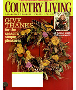 COUNTRY LIVING Magazine - November Issue 2008 - $6.00
