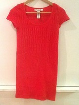 Forever 21 Women's Size Medium Red Textured Stretch Bodycon Dress - $11.95