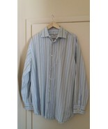 Banana Republic Men Shirt 100% Cotton Large Sleeve XL (17-17 1/2) Size - $8.66