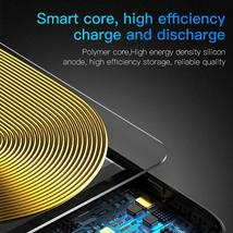 Baseus 5000mAh QI Wireless Charger Case External Battery Wireless Charging image 6