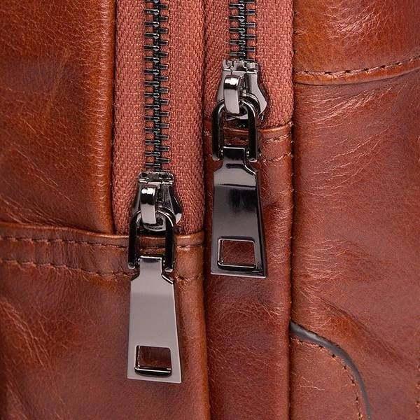 Sale, Messenger Bag, Men's Leather Messenger Bag, Men's Cross Leather Bag, Verti image 3
