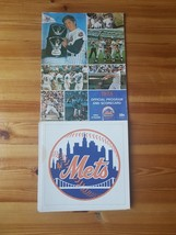 Original 1974 New York Mets Official Program and Brochure Team Fold Out - $49.50