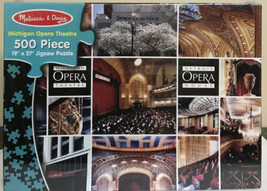 New Melissa & Doug Michigan Detroit Opera House Theatre Jigsaw Puzzle - $18.04