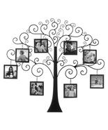"""FAMILY TREE Photo Wall Decor Frame 8 Picture 4"""" x 4"""" Display - $66.59"""