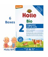Holle Stage 2 Organic Formula 05/2020 600g 6 BOXES  FREE SHIPPING - $148.95