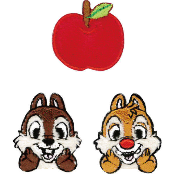Disney Store JAPAN Chip and Dale Moco Moco Blanket with Plush doll  Ribbon