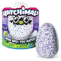 Hatchimals, Hatching Egg, Interactive Creature, Draggle, Blue/Purple Egg... - $113.50