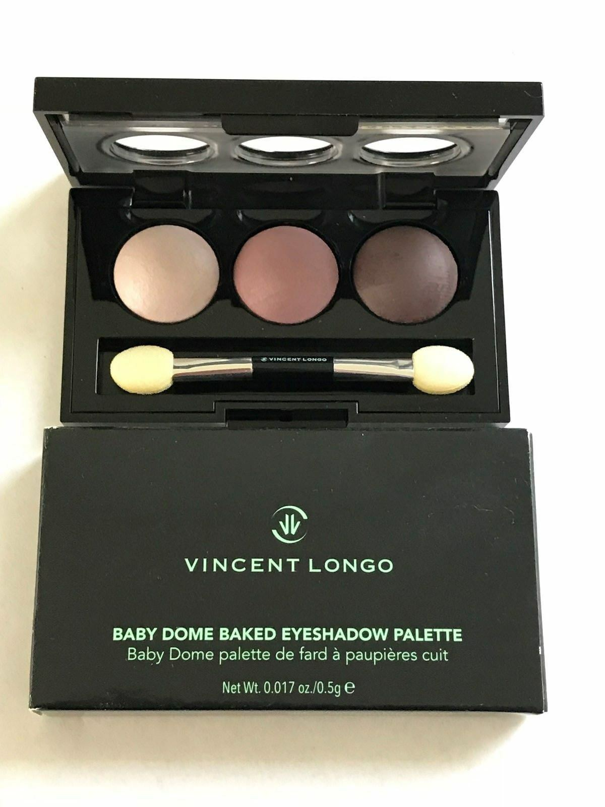 Vincent Longo Baby Dome Baked Eyeshadow Palette Trio Peralisa - $6.00