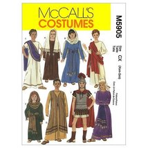 McCall/'s Costume Pattern M7229 ~ Biblical Costumes ~ Sizes XS to XL