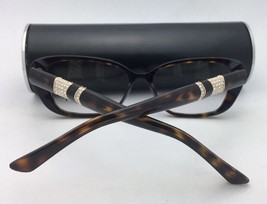New BVLGARI Eyeglasses 4124-B 5379 52-16 140 Tortoise & Gold Frame w/ Crystals