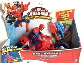 Marvel Ultimate Spiderman Web Slinger with Spider Speedster - $18.69