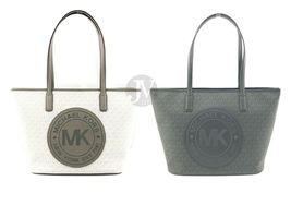 Michael Kors Fulton Sport Signature Top Zip Tote Handbag Purse Signature... - $103.99