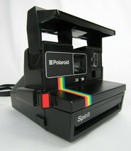 Polaroid Spirit 600 Land Camera Rainbow Stripe Vintage Instant Film E5G05012NC - $28.04