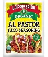 La Preferida Organic Al Pastor Taco Seasoning, 1 OZ Pack - 6 - $14.16