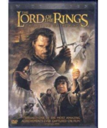 The Lord of the Rings The Return of the King Starring Elijah Wood WS DVD... - $5.97