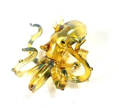 "Glass Octopus Ornament 3.25"" - $19.29"