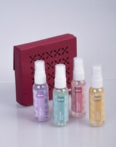 Fabindia Assorted Body spray Box of 4 Gift Set (50ml Each) - $25.95