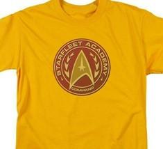 Starfleet Academy Command logo t-shirt retro sci-fi graphic tee CBS837 image 2